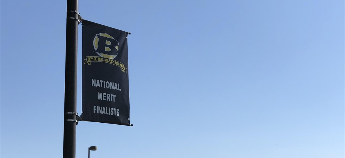 Image showing national merit finalists banner